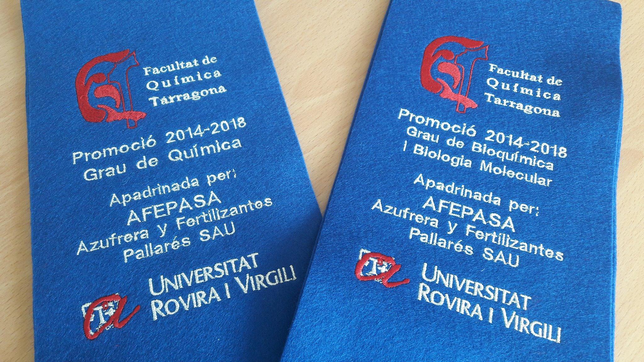L'AFEPASA parraine les promotions 2014 - 2018 de la Faculté de Chimie.