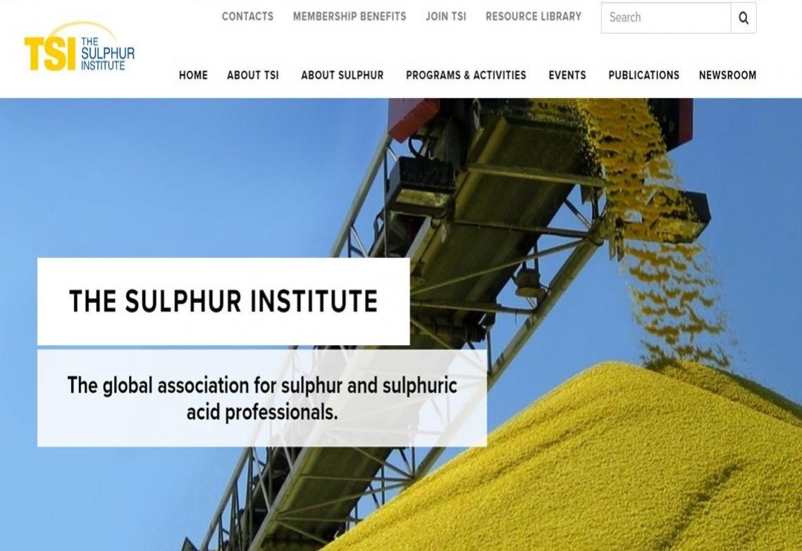 AFEPASA se une a The Sulphur Institute